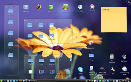 OpenSUSE 11 s KDE 4