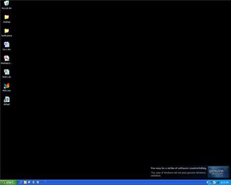 Digitální tma v XP