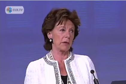 Neelie Kroes - EK pokutovala Intel nejvyšší částkou v historii EU