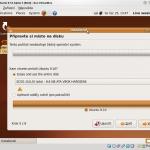 LiveCD Ubuntu 9.10 a3 - instalace