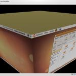 3D efekty fungují i ve virtuálním prostředí (Sun VirtualBox)