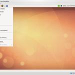 """Nabídka """"Místa"""" v Ubuntu"""