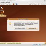 Dokončení instalace Ubuntu 9.10 Alpha 3