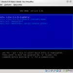GRUB (zavaděč) Ubuntu 9.10 Alpha 3