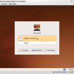 Nový správce přihlášení v Ubuntu 9.10 Alpha 3 (snad se zlepší grafické provedení)