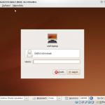 Správce přihlášení v Ubuntu 9.10 Alpha 3. Teď stačí jen zadat heslo