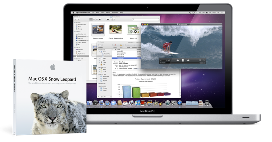 Snow Leopard - Mac OS X 10.6