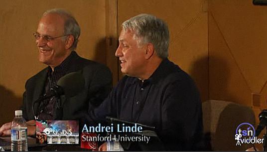 David Gross a Andrej Linde (vpravo)