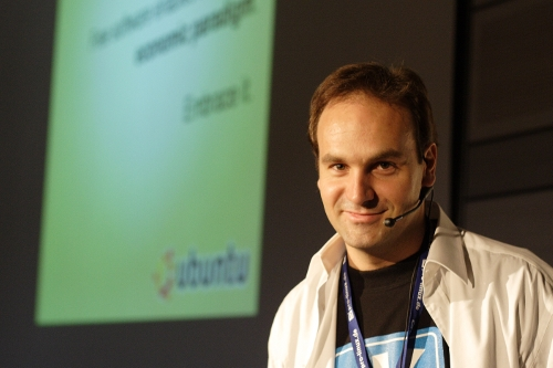 Mark Shuttleworth, majitel firmy Canonical