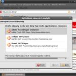 Nemáte Flash Player? Ubuntu/Firefox si o něj sami řeknou