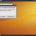 Ubuntu neobsahuje všechny překlady programů a systémových součástí. Musíte si o ně říct