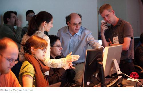 Wolframovi a jeho týmu záleží, co se o jejich práci píše na Scinet.cz ;-) / foto: Megan Bearder, Wolfram|Alpha Blog