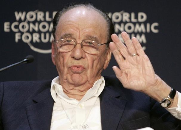 Rupert Murdoch / foto: World Economic Forum - Wikimedia, Flickr
