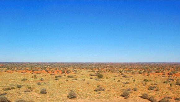 Poušt, de Simpson, Austrálie / foto: Temsabuita, Wikimedia