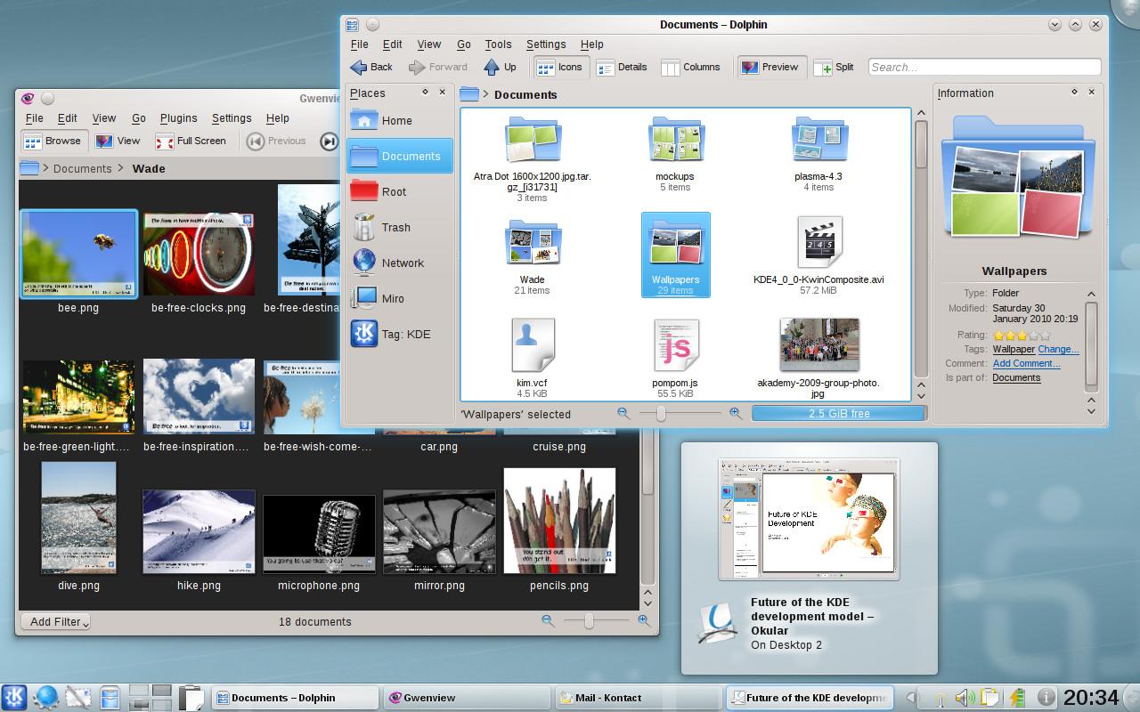 Grafické prostředí KDE 4.4